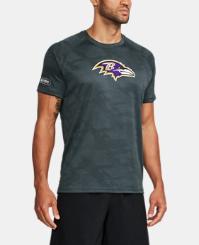 Men's NFL Combine Authentic UA Tech™ Jacquard T-Shirt  FREE U.S. SHIPPING 13  Colors Available $33.99