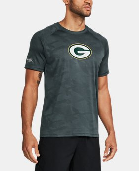 New to Outlet Men's NFL Combine Authentic UA Tech™ Jacquard T-Shirt   1 Color $33.99