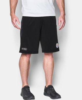 Men's NFL Combine Authentic UA Raid Printed Shorts  10 Colors $45