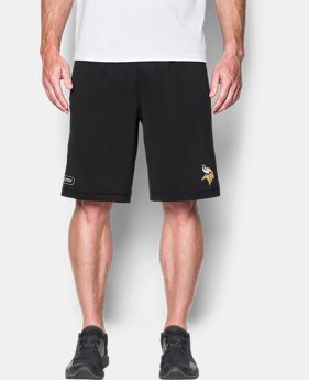 Men's NFL Combine Authentic UA Raid Printed Shorts  1  Color Available $45