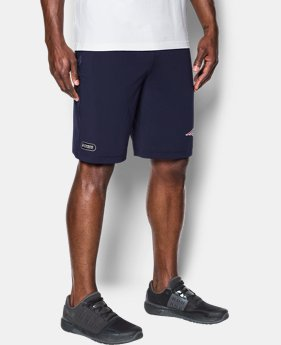 Men's NFL Combine Authentic UA Raid Printed Shorts  2 Colors $45