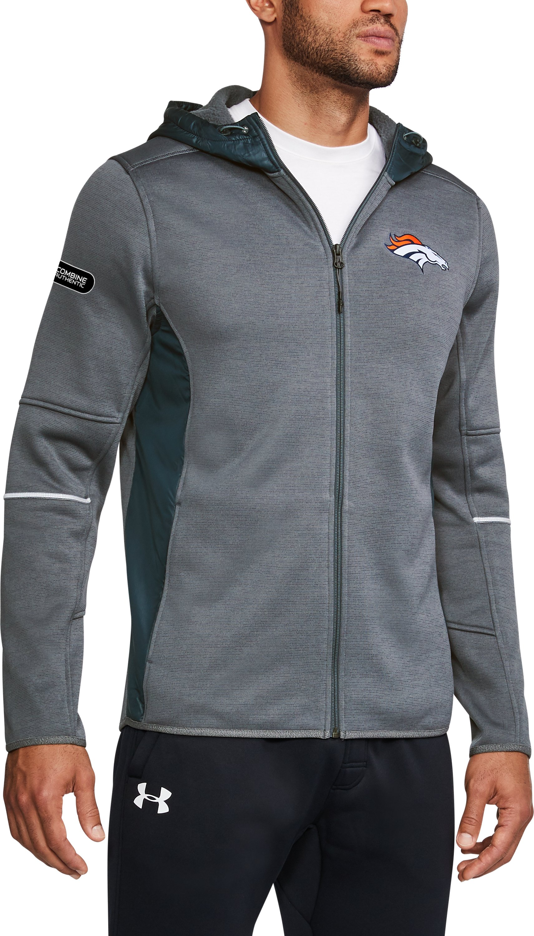 Men's NFL Combine Authentic UA Storm Swacket, NFL_DENVER BRONCOS_RHINO, undefined