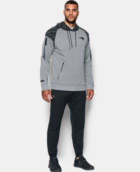 New to Outlet Men's NFL Combine Authentic UA Pinnacle Hoodie  2  Colors $97.5 to $97.99