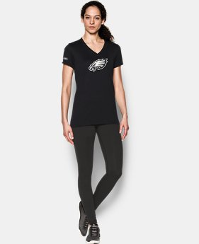 Women's NFL Combine Authentic UA Logo T-Shirt  1  Color $35