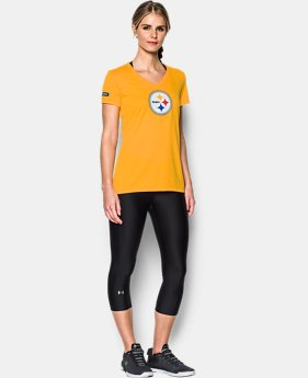 Women's NFL Combine Authentic UA Logo T-Shirt LIMITED TIME: 25% OFF 2 Colors $26.24