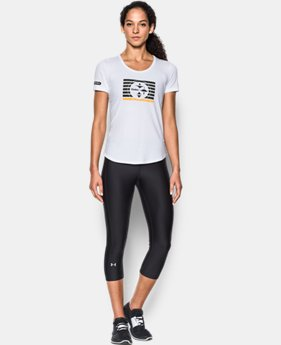 Women's NFL Combine Authentic UA No Days Off T-Shirt  10 Colors $35