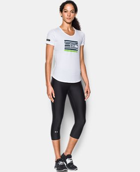 Women's NFL Combine Authentic UA No Days Off T-Shirt  12 Colors $35