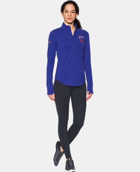 Women's NFL Combine Authentic UA Charged Cotton® 1/2 Zip  3 Colors $60