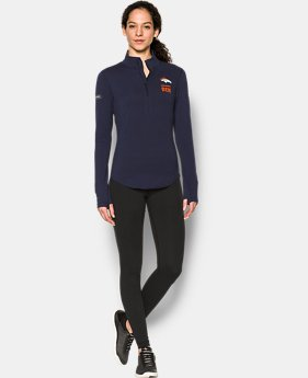 Women's NFL Combine Authentic UA Charged Cotton® 1/2 Zip  1  Color Available $42
