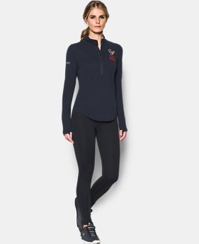 Women's NFL Combine Authentic UA Charged Cotton® 1/2 Zip  7 Colors $60