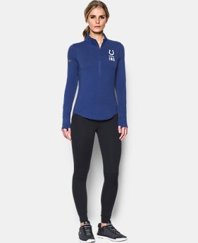 Women's NFL Combine Authentic UA Charged Cotton® 1/2 Zip  5 Colors $60