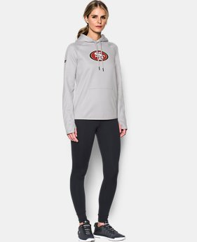 Women's  NFL Combine Authentic UA Storm Logo Hoodie  1  Color Available $59.99 to $60.99