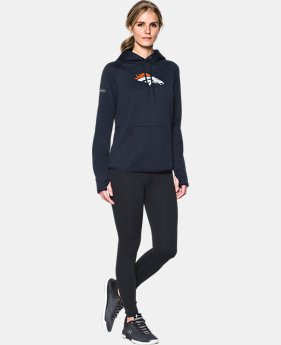 New to Outlet Women's  NFL Combine Authentic UA Storm Logo Hoodie  1 Color $59.99 to $60.99