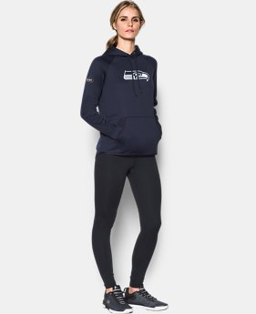 Women's  NFL Combine Authentic UA Storm Logo Hoodie  2 Colors $80