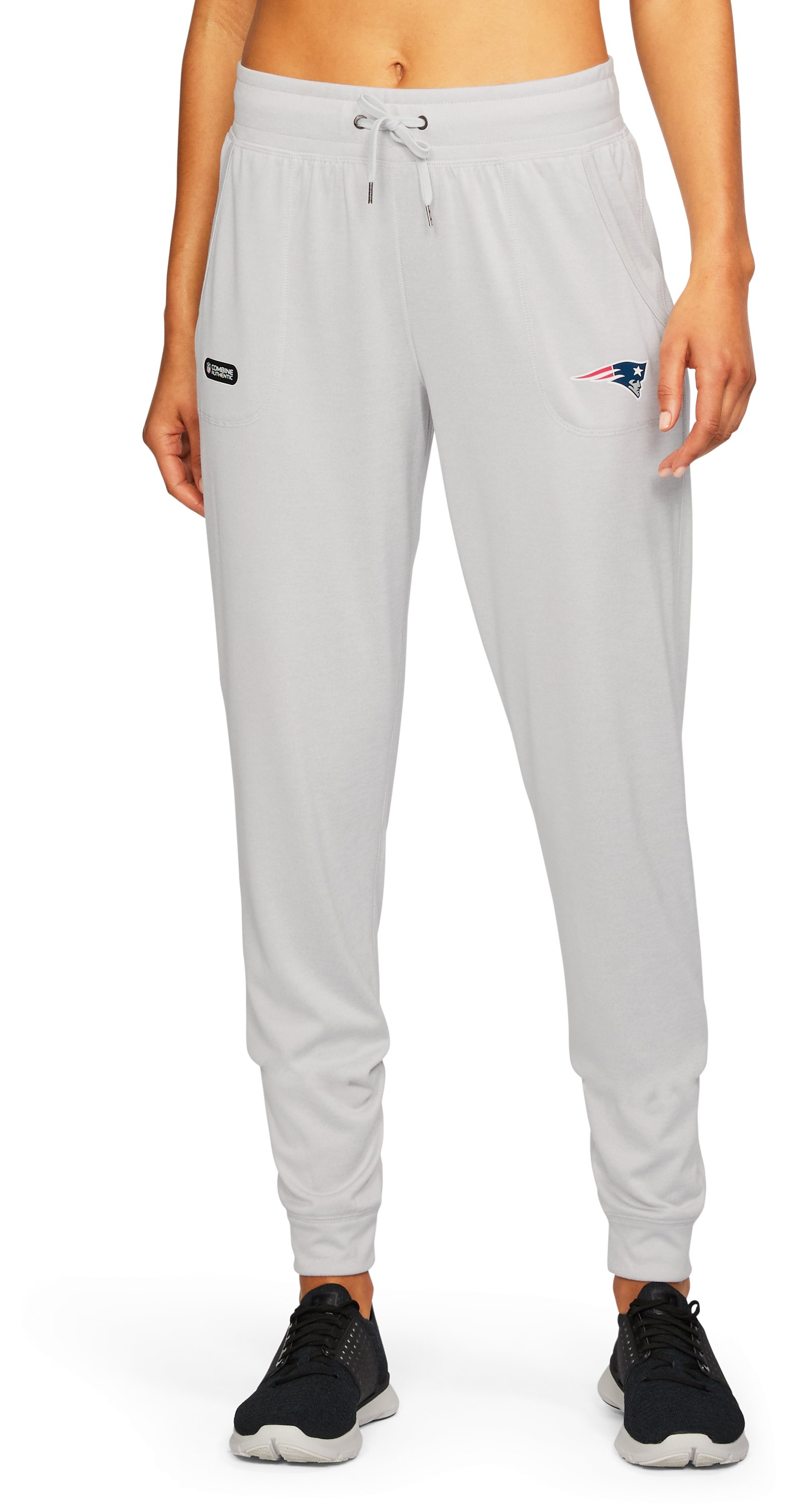 Women's NFL Combine Authentic UA Tech™ Pants, NFL_NEW ENGLAND PATRIOTS_GLACIER GRAY, undefined