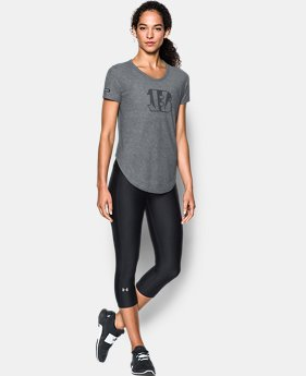 Women's NFL Combine Authentic UA Studio T-Shirt   8 Colors $50
