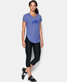 Women's NFL Combine Authentic UA Studio T-Shirt   1 Color $50