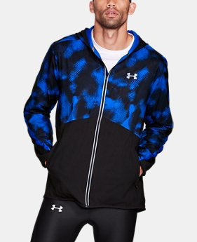 Men's UA Run True Printed Jacket  1 Color $59.99