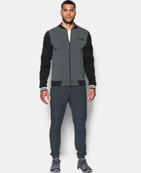 New to Outlet Men's UA Sportstyle Woven Bomber  1 Color $69.99