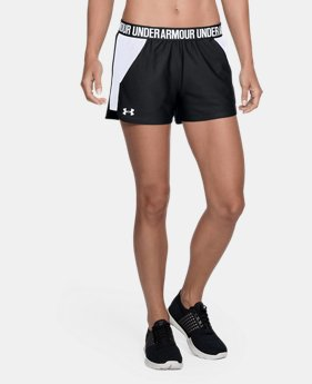 Women's UA Play Up Mesh Inset Shorts  3 Colors $22.49 to $29.99