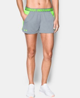 Women's UA Play Up Mesh Inset Shorts  4 Colors $19.99 to $26.24