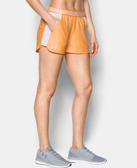 Women's UA Play Up Mesh Inset Shorts  1 Color $34.99
