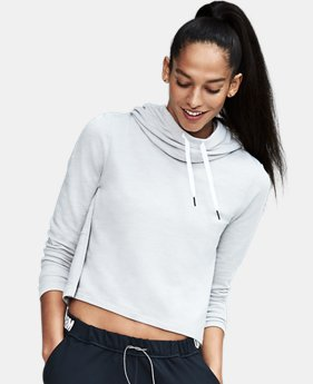 Women's UA Plush Terry Hoodie   2 Colors $74.99
