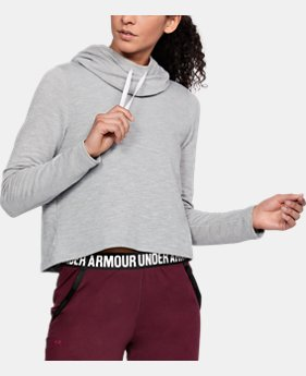 Women's UA Plush Terry Hoodie   1 Color $56.24