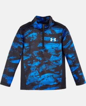Boys' Pre-School UA Digi Blur 1/4 Zip  1 Color $34.99