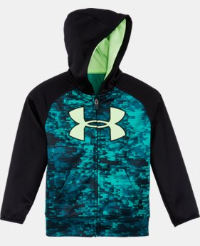 New Arrival Boys' Pre-School UA Digi Blur Big Logo Hoodie LIMITED TIME: FREE U.S. SHIPPING 1 Color $42.99