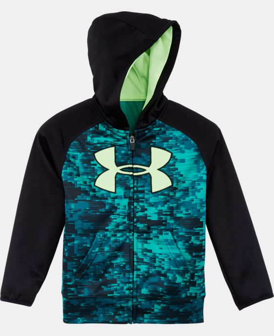 New Arrival Boys' Toddler UA Digi Blur Big Logo Hoodie LIMITED TIME: FREE U.S. SHIPPING  $42.99