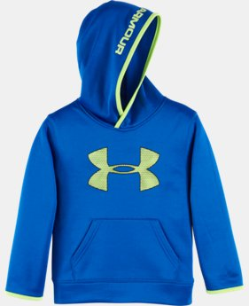 Boys' Pre-School UA Armour® Fleece Highlight Hoodie LIMITED TIME OFFER + FREE U.S. SHIPPING  $39.99