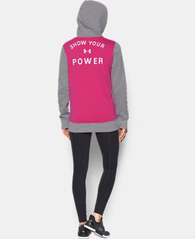 Women's UA Power In Pink® Hoodie  1 Color $49.99