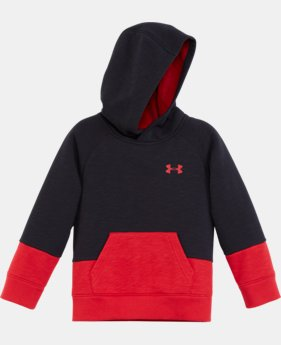 New Arrival Boys' Pre-School UA Color Block Hoodie  1 Color $39.99