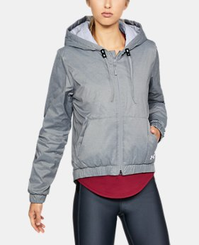 Women's ColdGear® Reactor Crop Hoodie  4 Colors $131.24