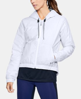 New Arrival Women's ColdGear® Reactor Crop Hoodie  1 Color $174.99