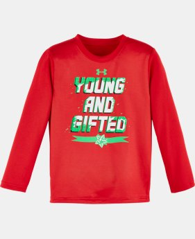 Boys' Pre-School UA Young & Gifted Long Sleeve  1 Color $17.99
