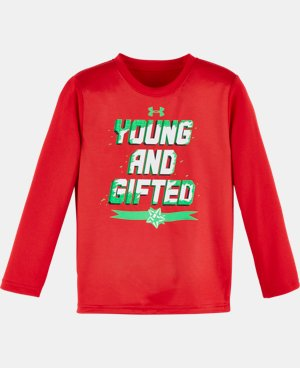 New Arrival Boys' Pre-School UA Young & Gifted Long Sleeve LIMITED TIME: FREE U.S. SHIPPING  $22.99