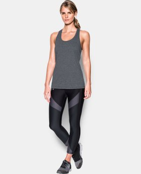 Women's UA Microthread Train Twist Tank  1  Color Available $23.99