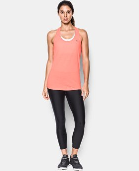 Women's UA Threadborne Train Twist Tank  1 Color $20.99