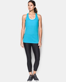 New to Outlet Women's UA Threadborne Train Twist Tank  1 Color $20.99 to $22.99