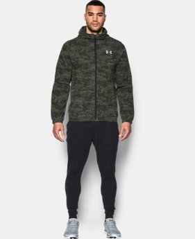 Men's UA Lightweight Printed Swacket  1 Color $57.74 to $76.99