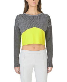Women's UAS Plated Cropped Sweater  1 Color $150