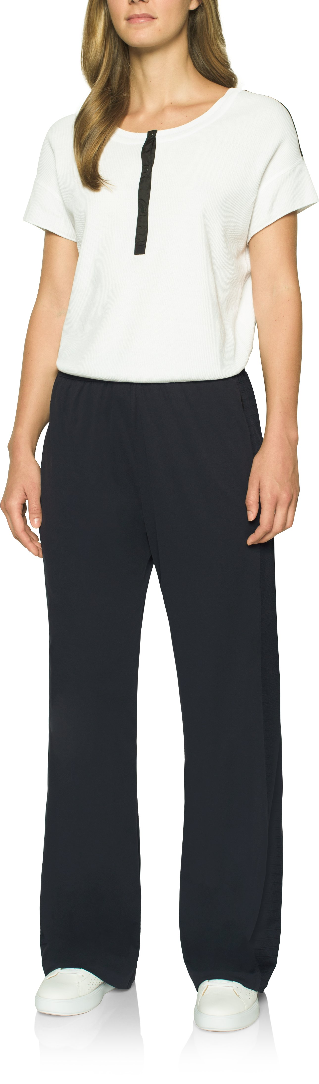 Women's UAS Wide Leg Pants, Black , Front