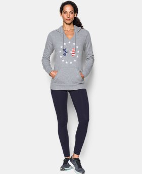 UA Freedom Logo Favorite Fleece Hoodie  4 Colors $54.99