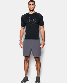 Best Seller Men's UA Freedom HeatGear® Armour Short Sleeve  1 Color $32.99