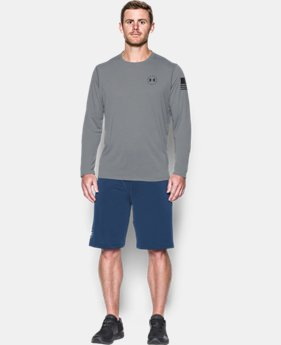 Best Seller Men's UA Freedom UA Threadborne™ Siro Long Sleeve T-Shirt  2  Colors $39.99