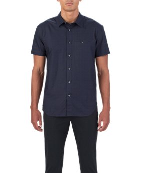 Men's UAS Draftday Pattern Oxford Short Sleeve  1 Color $67.99