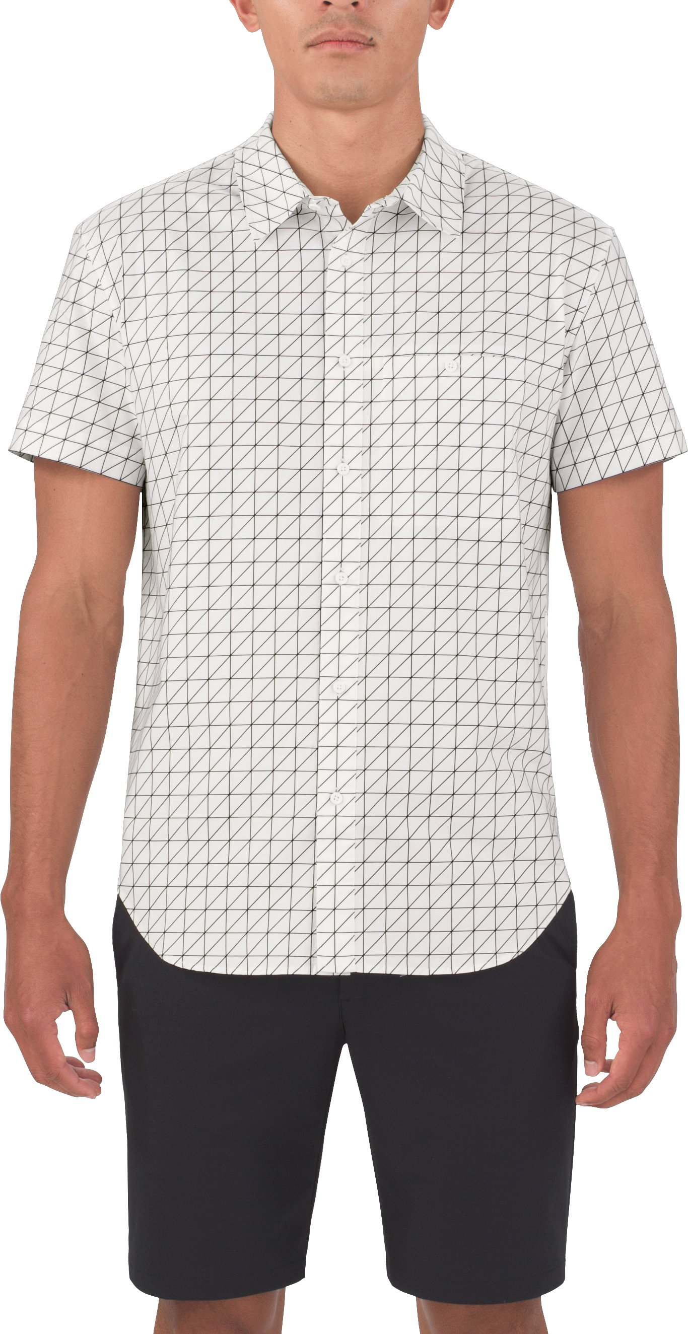 Men's UAS Draftday Pocket Oxford, White, zoomed image