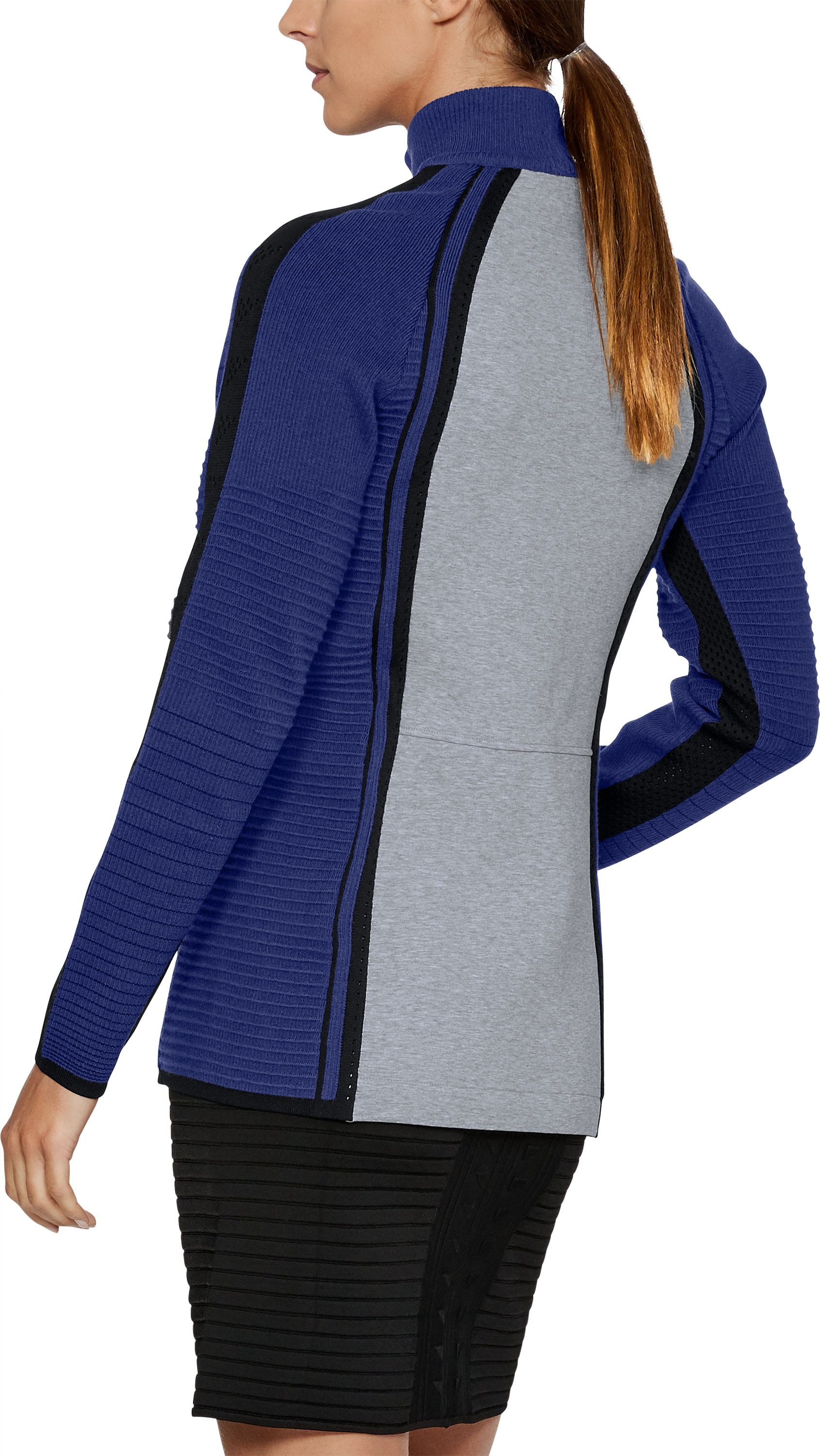 Women's UAS Hybrid Jacket, Navy, undefined